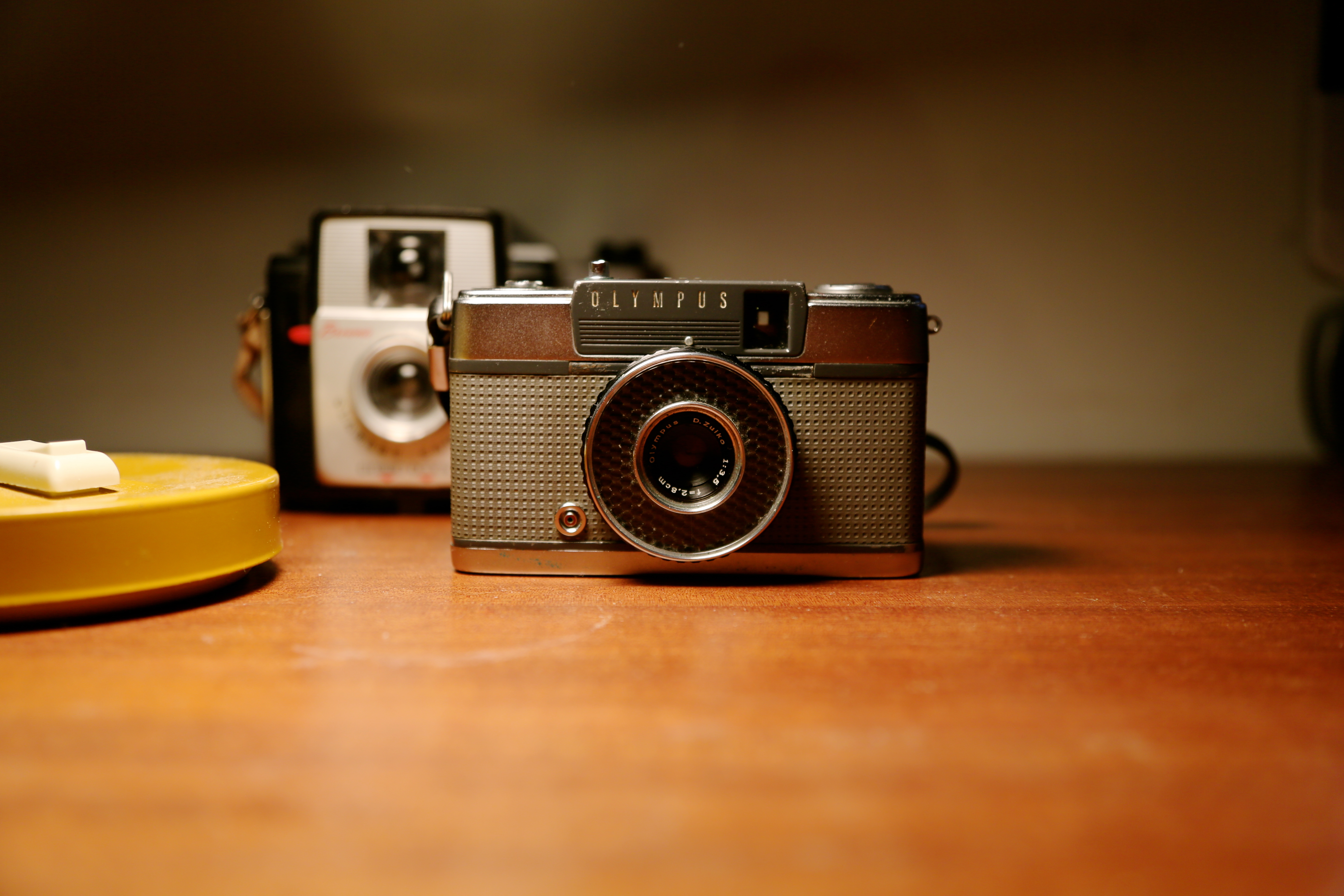 What is an analogue camera